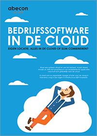 Bedrijfssoftware in de cloud