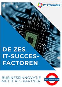 De zes IT succesfactoren
