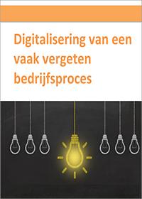 digitalisering van een vaak vergeten bedrijfsproces